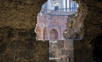 The ancient amphitheater of Catania (photo Giorgio Romeo)