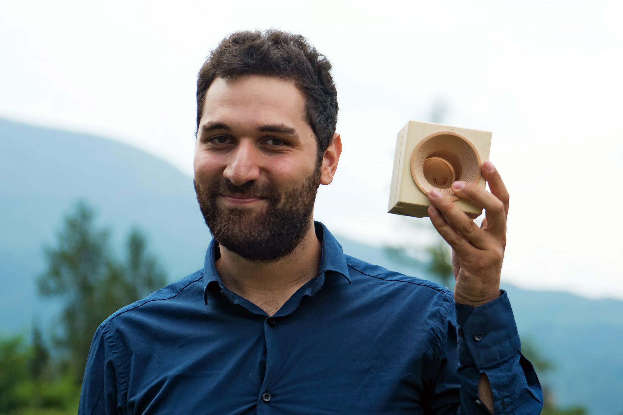 Giuseppe Addamo and the Vaia Cube