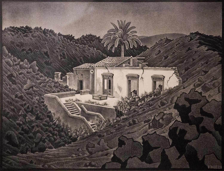 Una mostra vulcanica per celebrare il ritorno di escher for Escher mostra catania