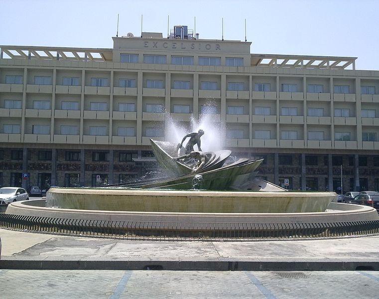 La Fontana dei Malavoglia in Piazza Verga a Catania