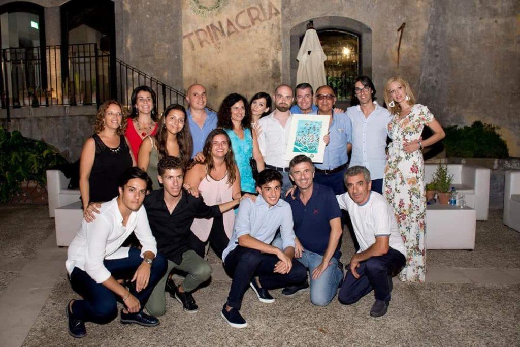 Il cast di Processo a Chinnici. Foto scattata da Brunella Bonaccorsi