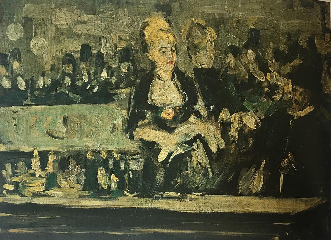 EDOUARD MANET Bar aux Folies Bergère - Sicilian Post