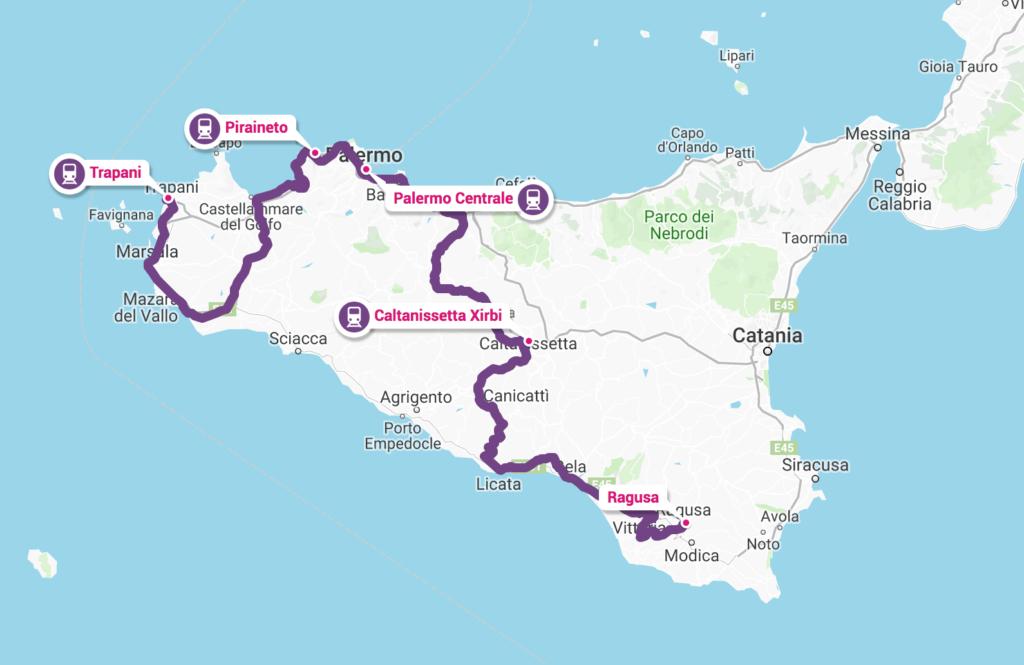 Cartina Ferroviaria Sicilia.Fact Checking 9 Ore Da Trapani Ad Agrigento Le Ferrovie In Sicilia Sono Da Terzo Mondo Sicilian Post