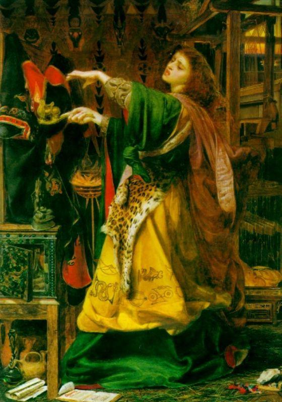 Morgana nella rappresentazione del pittore inglese Frederick Sandys