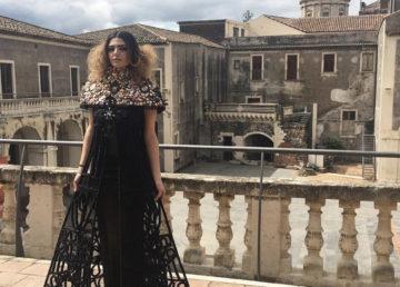 L'abito realizzato da Francesco Buggea