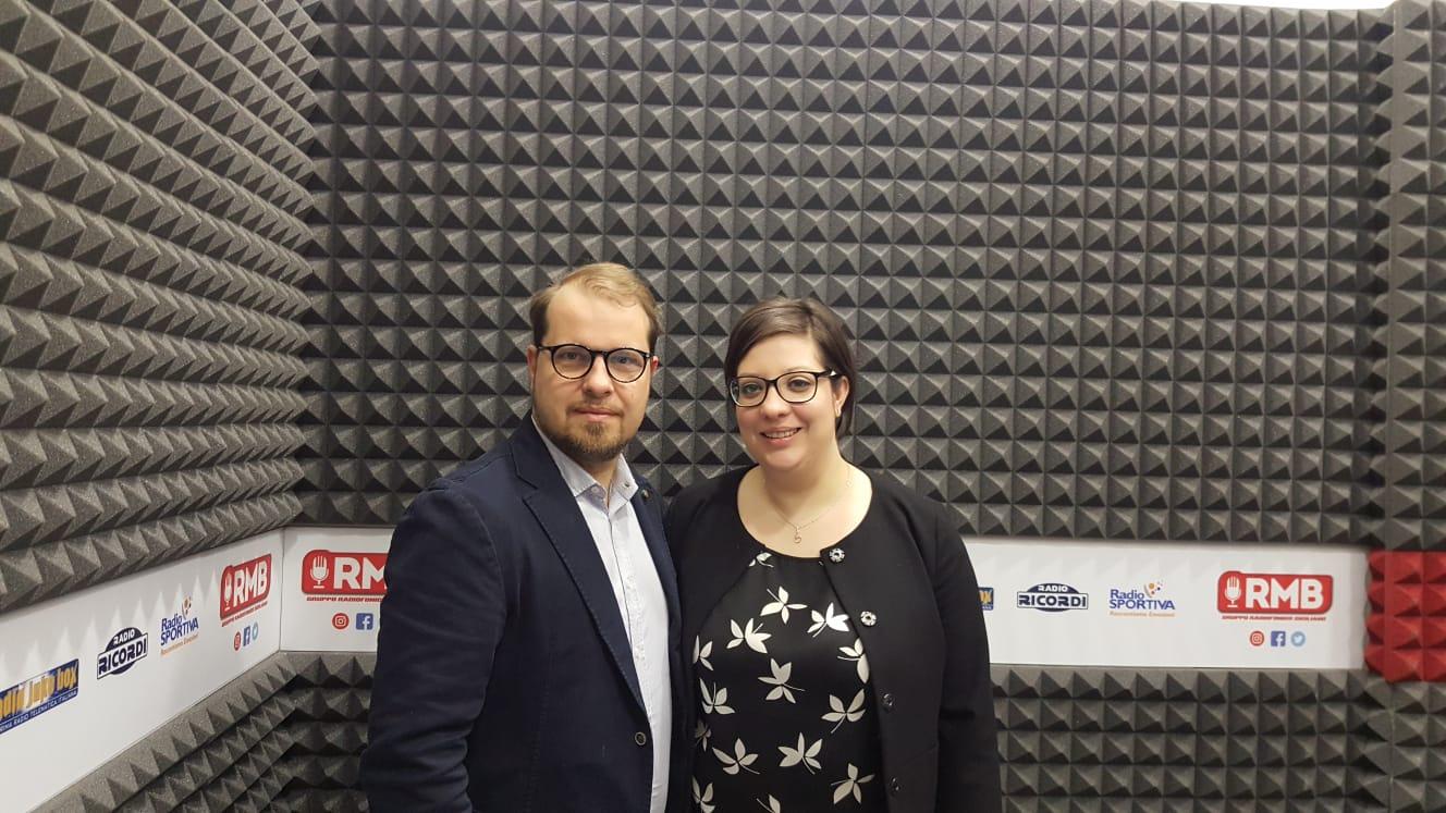 Voleri e Virginia Guerrera, presidente di AISM Catania