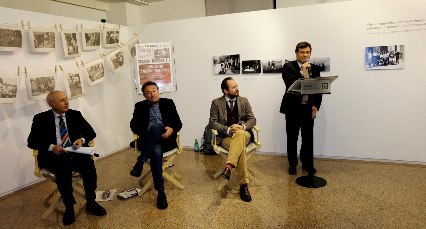 Da sinistra: Giuseppe Di Fazio, Carmelo Nicosia, Leo Guerra, Domenico Ciancio. Foto di Nuccio Condorelli