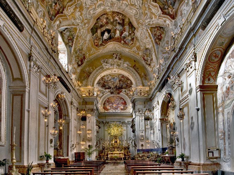 Chiesa di San Benedetto, Via Crociferi, Catania