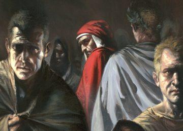 """Una delle illustrazioni di Gabriele Dell'Otto contenuta nel volume """"Inferno"""""""