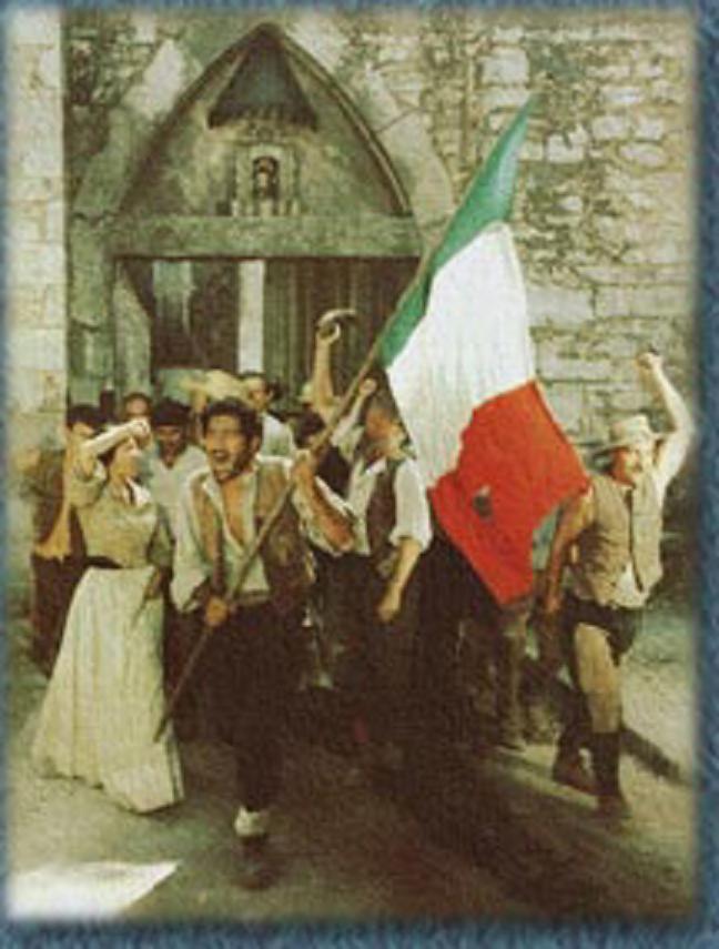 Scena tratta dal film Bronte: cronaca di un massacro di F. Vancini, 1972