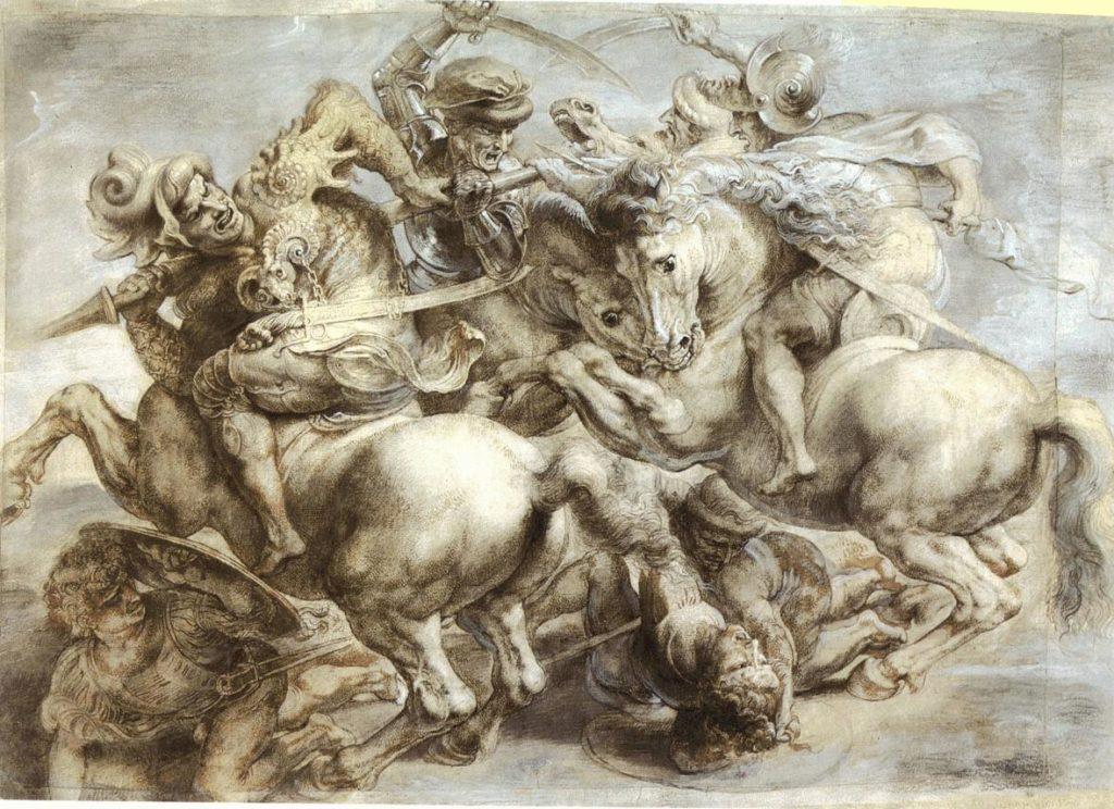 Copia della Battaglia di Anghiari di Paul Rubens