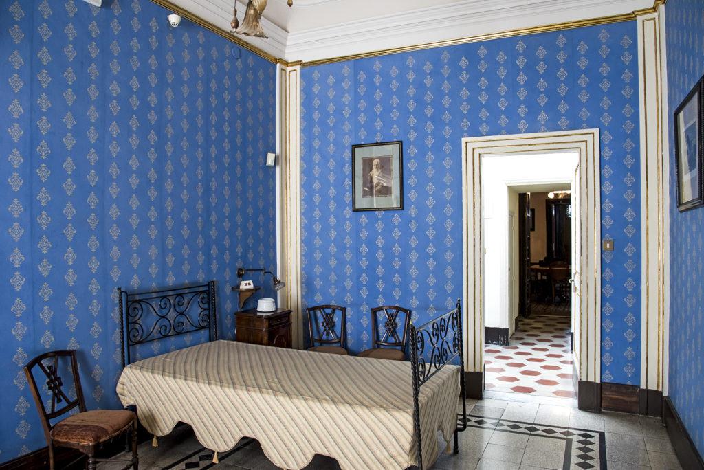 Camera da letto della zia di Verga. Foto di Eleonora Barilà