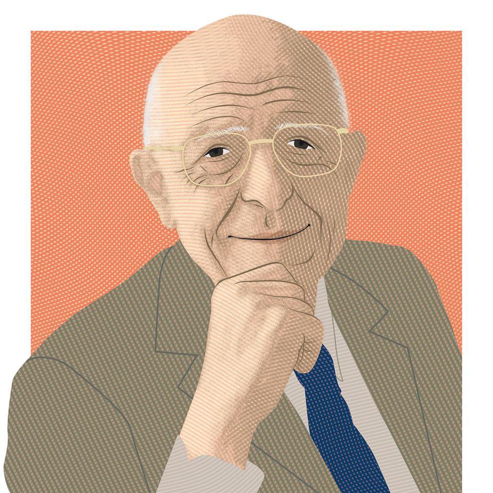 Sabino Cassese (Illustrazione di Turi Distefano)