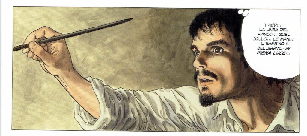 Tavola da La tavolozza e la spada vol. 1