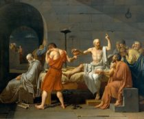 Morte di Socrate - Jacques-Louis David