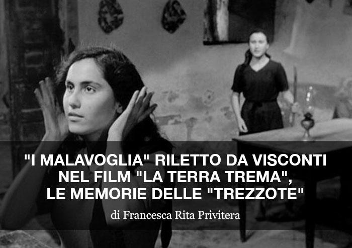 """""""I Malavoglia"""" riletto da Visconti nel film """"La Terra Trema"""""""