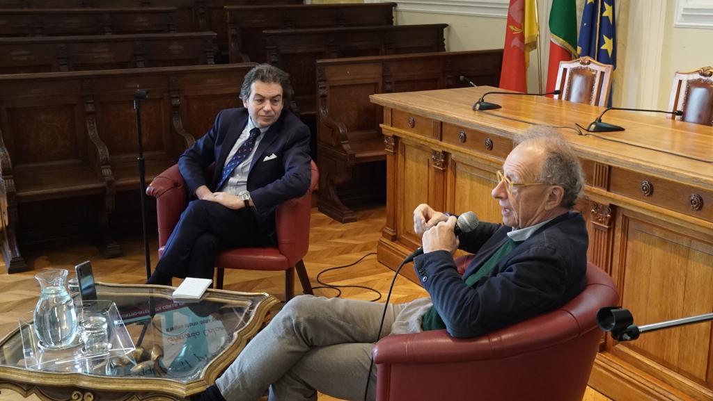 Antonello Piraneo e Gherardo Colombo