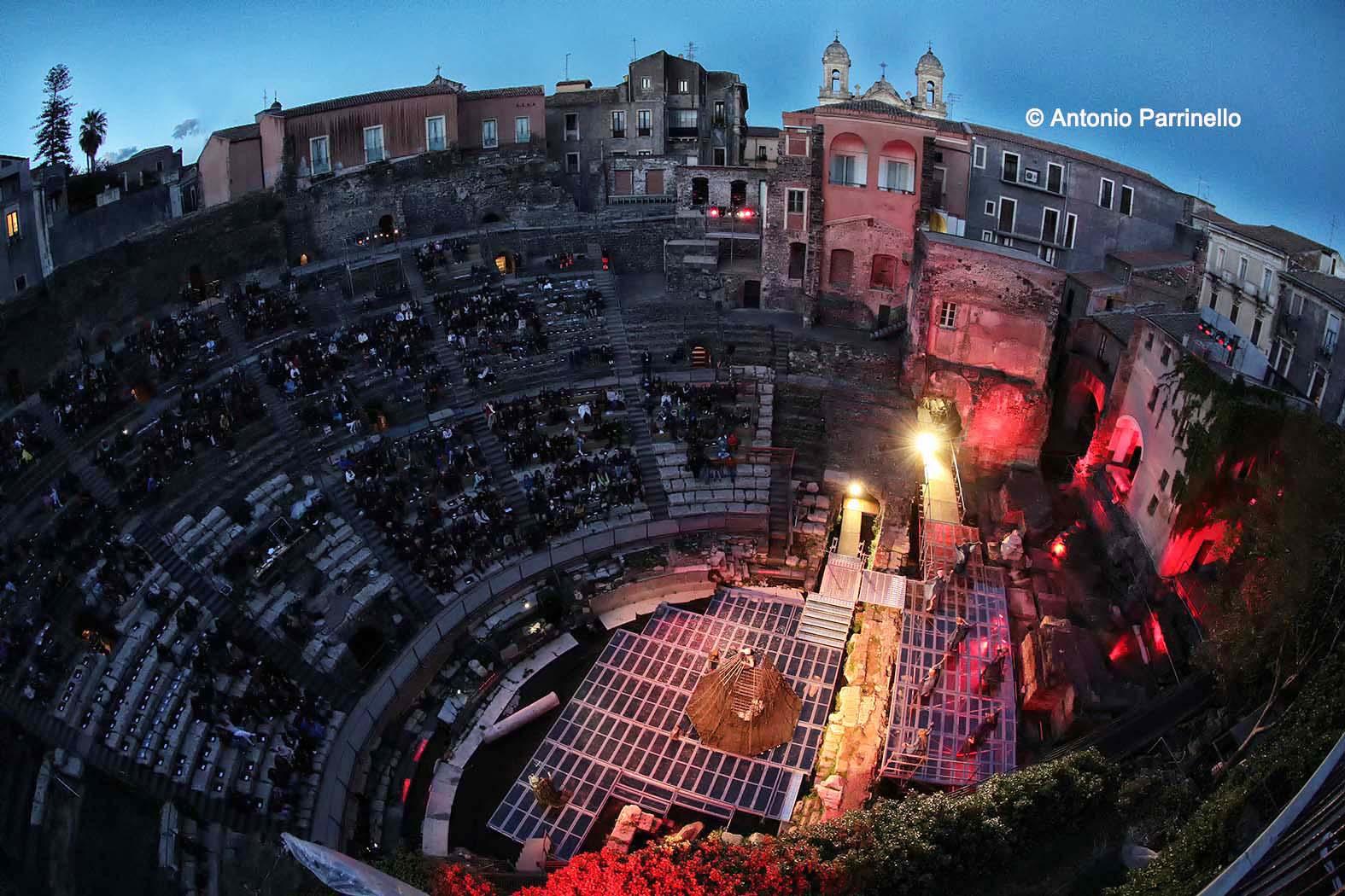 Il teatro romano di Catania (foto Antonio Parrinello)