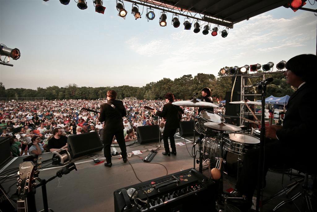 I Liverpool in concerto (foto dal sito ufficiale)