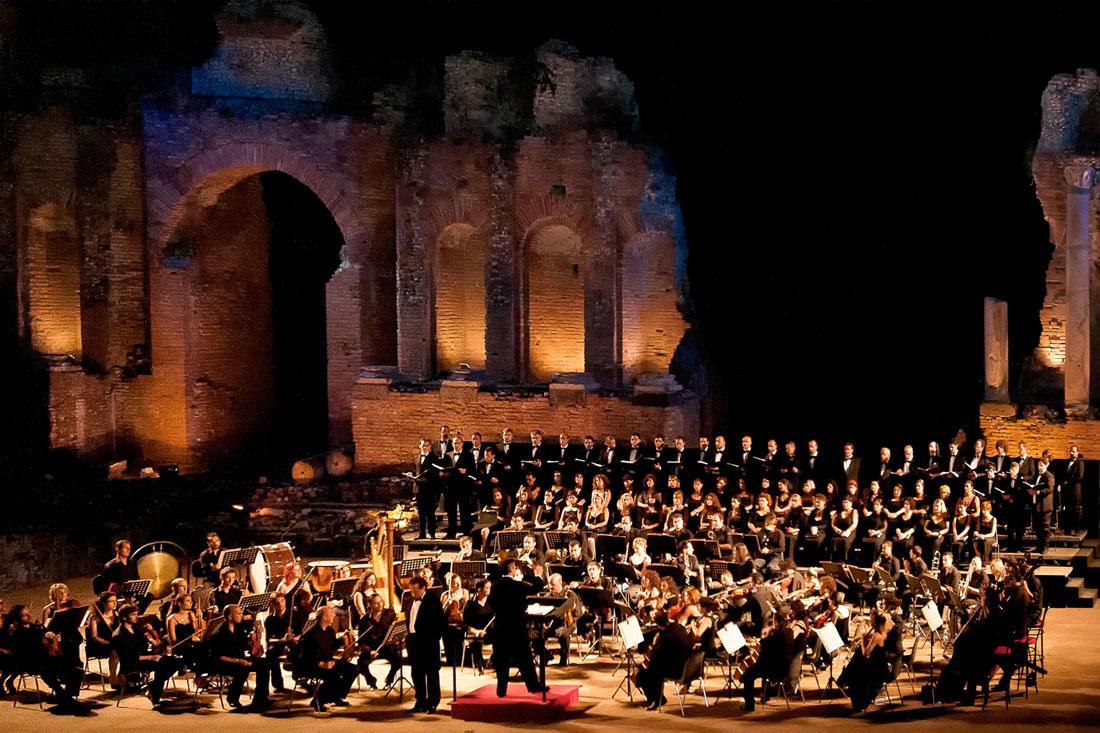 Il Coro Lirico Siciliano Taormina