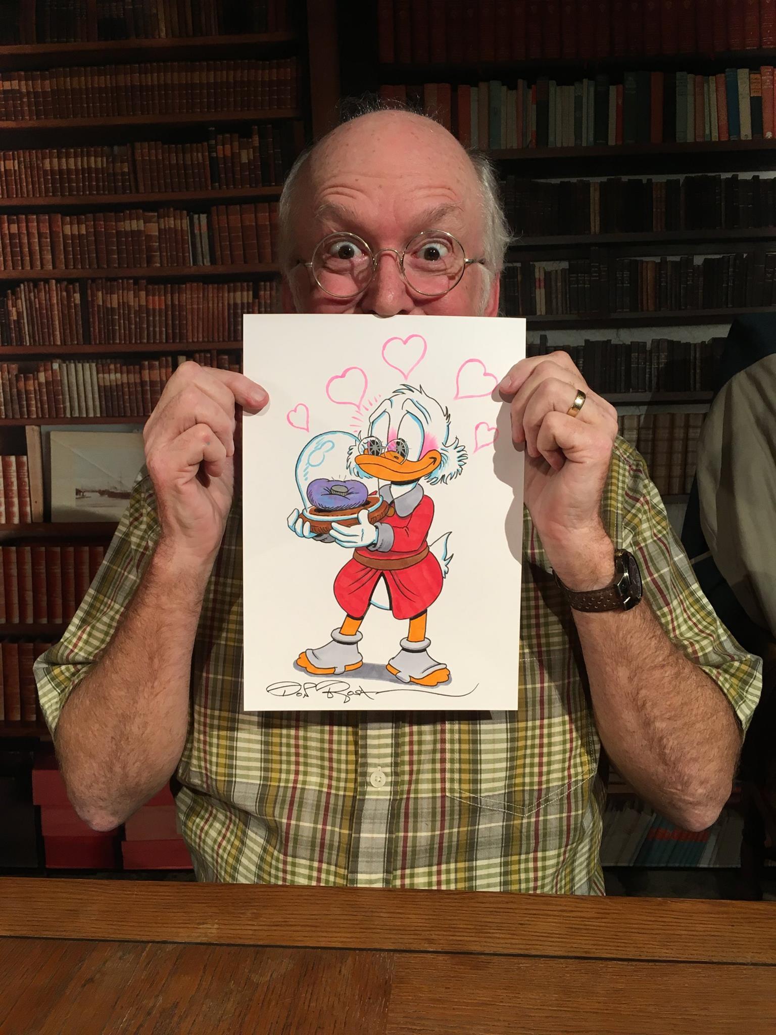 Il fumettista americano Don Rosa