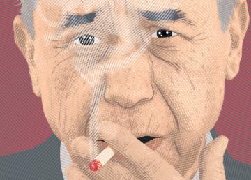 Leonardo Sciascia, illustrazione di ARGO, Turi Distefano