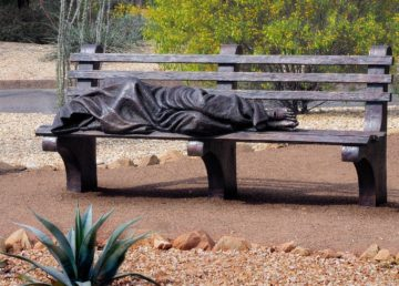 Homeless Jesus, Timothy Schmalz