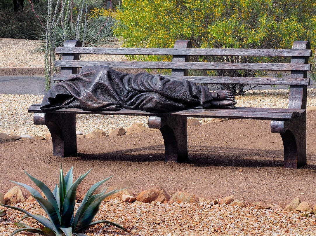 Homeless Jesus, Timothy Schmalz