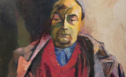 Renato Guttuso, Ritratto di Pablo Neruda, 1954 (dettaglio)